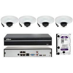 Zestaw do monitoringu na 4 kamery z funkcją mapy cieplnej