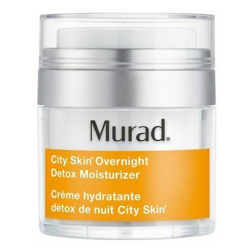 Kremy na noc, City Skin - Detoksykująco-nawilżający krem na noc