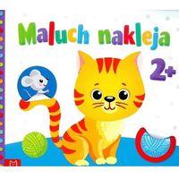 Książki dla dzieci, Maluch nakleja Książeczka z okrągłymi naklejkami 2 - Jeśli zamówisz do 14:00, wyślemy tego samego dnia.