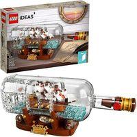 Klocki dla dzieci, Lego IDEAS Statek w butelce 92177