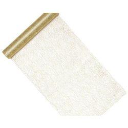 Dekoracja bieżnik na stół złoty - 9 m - 1 szt.