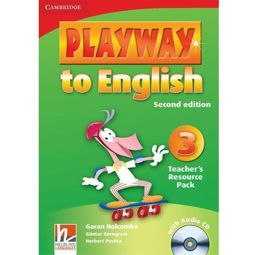 Książki do nauki języka, Playway to English 3. Second Edition Teacher's Resource Pack + CD (opr. miękka)
