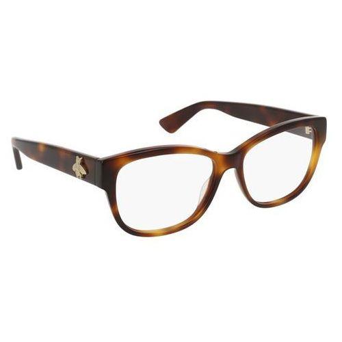 Okulary korekcyjne, Okulary Korekcyjne Gucci GG0098O 002