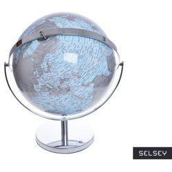 SELSEY Globus szaro - niebieski średnica 25 i 32 cm