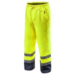 Spodnie robocze wodoodporne żółte L NEO