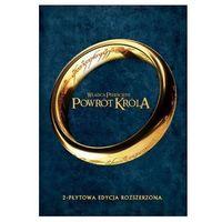 Filmy fantasy i s-f, WŁADCA PIERŚCIENI POWRÓT KRÓLA - EDYCJA ROZSZERZONA (2 DVD) GALAPAGOS Films 7321909323773