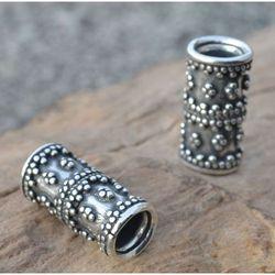 Pierścień do brody wikingów 7mm srebro 925, SBR304