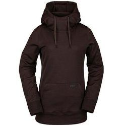 bluza VOLCOM - Yerba P/Over Fleece Black Red (BRD) rozmiar: S