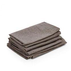 Blumfeldt Titania Dinning Set pokrycia pokrowce na tapicerkę brązowe