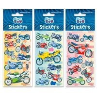 Naklejki, Naklejki Sticker BOO sliver motocykle