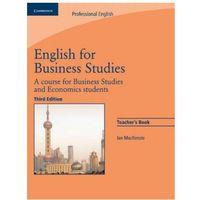 Książki do nauki języka, English For Business Studies. 3th Edition. Książka Nauczyciela (opr. miękka)