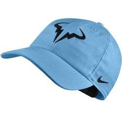 Nike czapka tenisowa Rafa U NK Arobill H86 Cap Lagoon Pulse Black - BEZPŁATNY ODBIÓR: WROCŁAW!