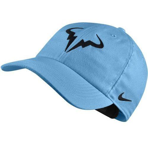 Odzież do tenisa i pokrewnych, Nike czapka tenisowa Rafa U NK Arobill H86 Cap Lagoon Pulse Black