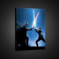 Obrazy, Obraz Gwiezdne Wojny: Darth Vader i Luke PPD720