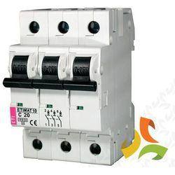 Wyłącznik nadprądowy ETIMAT10 3P 10kA C20A 002135717 ETI