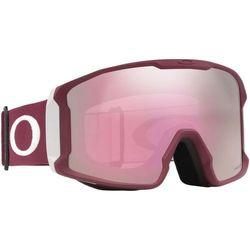 Oakley Line Miner Gogle zimowe Mężczyźni, grey/prizm hi pink 2019 Gogle narciarskie