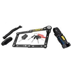 Zapięcie rowerowe Onguard Link Plate Lck K9 Combo składane 75 cm 5 kluczy z kodem