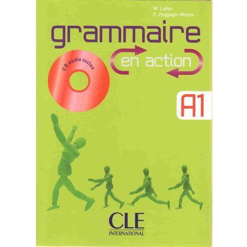Książki do nauki języka, Grammaire en action A1 + Cd (opr. miękka)