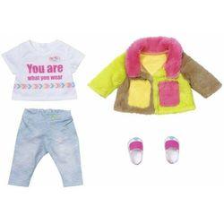 Zapf Baby Born Kolorowy płaszcz 43 cm