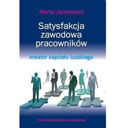 Satysfakcja zawodowa pracowników - kreator kapitału ludzkiego (opr. kartonowa)