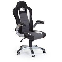 Fotele dla graczy, Fotel gabinetowy lub dla gracza obrotowy HALMAR - LOTUS popielaty