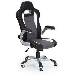 Fotel gabinetowy lub dla gracza obrotowy HALMAR - LOTUS popielaty
