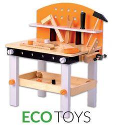 Wielofunkcyjny drewniany warsztat narzędziowy 32 el.