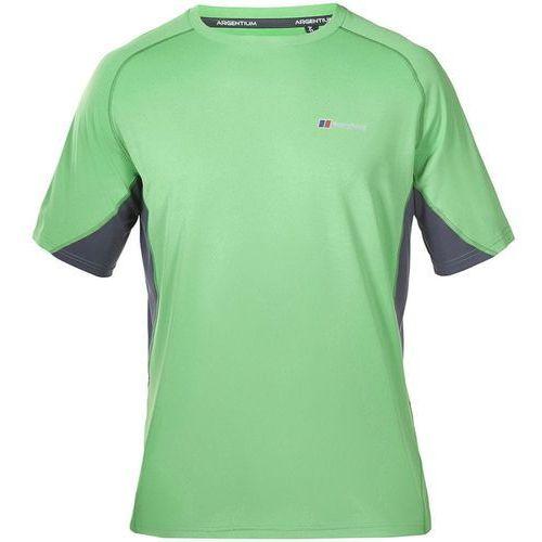 Odzież do fitnessu, Berghaus Tech Tee Basecrew SS Am Green Grey L