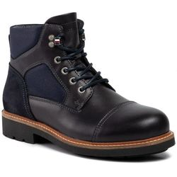 Trzewiki TOMMY HILFIGER - Active Material Mix Boot FM0FM02426 Midnight 403