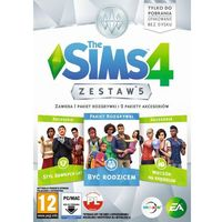 Gry na PC, The Sims 4 Zestaw 5 (PC)
