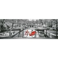 Puzzle, Puzzle 1000 High Quality Collection: Panorama Amsterdam Bicycle (39440). Wiek: 14+