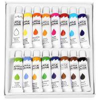 Farbki, Farba akrylowa 16 kolorów EASY