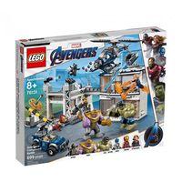 Klocki dla dzieci, 76131 BITWA W KWATERZE AVENGERSÓW (Avengers Compound Battle )- KLOCKI LEGO SUPER HEROES