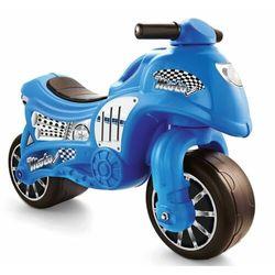 DOLU chodzik dziecięcy - motocykl, niebieski