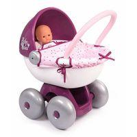 Wózki dla lalek, Smoby Baby Nurse Wózek głęboki gondola dla lalek Calin