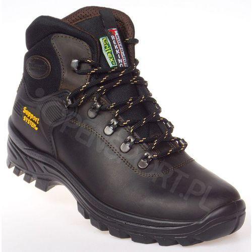 Męskie obuwie sportowe, MĘSKIE BUTY GRISPORT LONTRA BRĄZOWE 10242D26G 41
