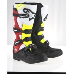 BUTY ALPINESTARS TECH 5 OFFROAD BLACK/WHITE/RED/YELL.