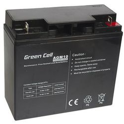 Akumulator AGM 12V 20Ah {181 × 77 × 167 mm} (GreenCell)