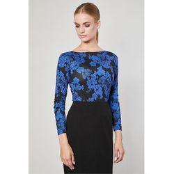 Bluzka w kwiaty Vares Flowers - Click Fashion