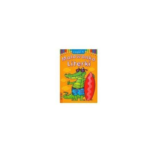 Książki dla dzieci, Malowanka 145x210 lit literki 4 (opr. miękka)