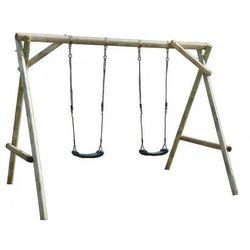 Ogrodowa huśtawka dla dzieci MINI PLUS drewniana SOBEX