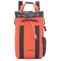 Plecak sejf podróżny wodoodporny Pacsafe Dry 15l - pomarańczowy
