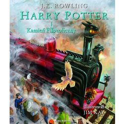 Harry Potter i kamień filozoficzny-ilustrowany - Wysyłka od 3,99 - porównuj ceny z wysyłką (opr. twarda)
