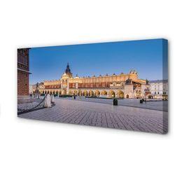 Obrazy na płótnie Kraków Zachód słońca sukiennice