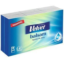 Velvet Chusteczki higieniczne Balsam 6x9szt