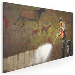 Banksy - Lascaux - nowoczesny obraz na płótnie