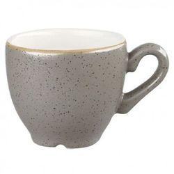 Filiżanka espresso 0,1 l, szara | CHURCHILL, Stonecast Peppercorn Grey