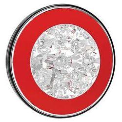 Lampa LED cofania 2 funkcje okrągła (FT112)
