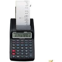 Kalkulatory, Kalkulator z drukarką CASIO HR-8RCE BK S