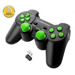 Gamepad bezprzewodowy Esperanza GLADIATOR EGG108G PS3/PC 2,4GHz